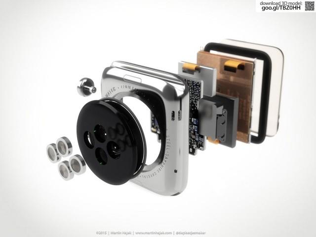 Apple Watch teardown 640x481 Apple Watch 2 : un écran plus fin pour une meilleure batterie ?