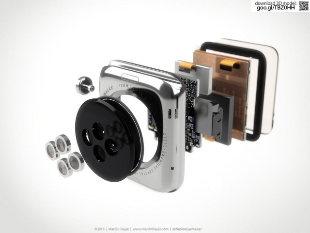 Apple Watch teardown 640x481 LApple Watch estimée à 83.70$, main doeuvre incluse  !