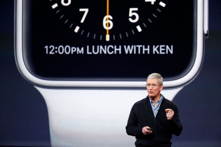 Apple Watch LApple Watch aura sa minute de gloire au keynote !