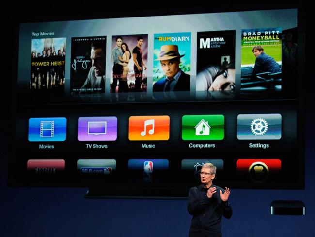 Apple tv internet Apple souhaiterait que les chaînes gèrent leur propre flux TV