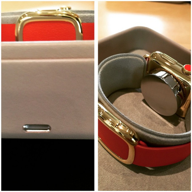 Apple watch Edition emballage 001 Voici la boîte premium de lApple Watch Edition