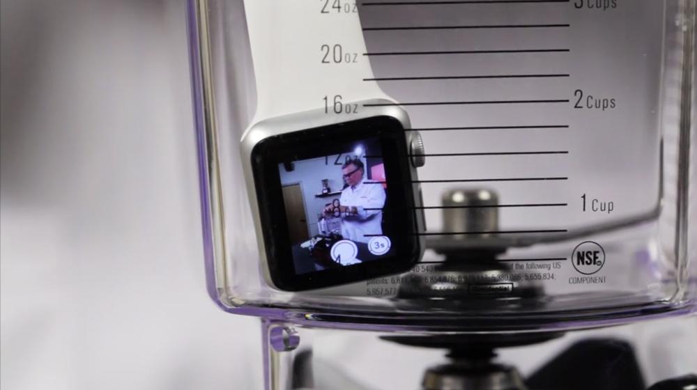 BlendTec Apple Watch Le combat inutile du jour : Apple Watch vs. Mixeur