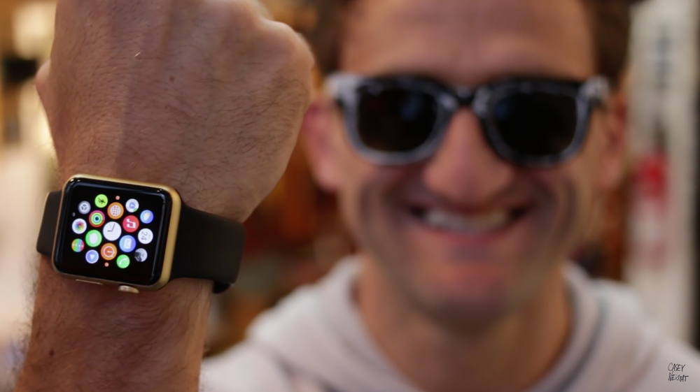 Casey Neistat Edition Envie de transformer votre Apple Watch Sport en Apple Watch Edition ?