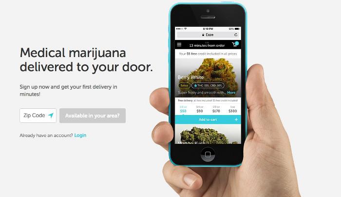 Eaze app ios 002 Snoop Dogg finance lapp Eaze spécialisée dans la livraison de cannabis