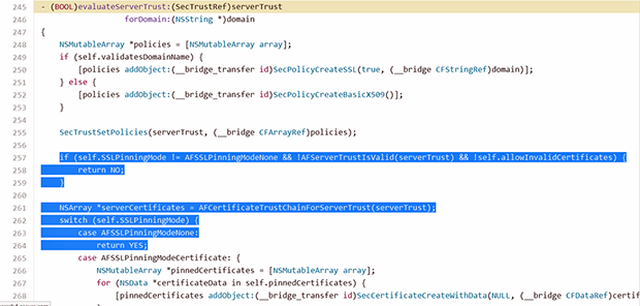 HTTPS Flaw iOS Faille HTTPS : plus de 1500 applications iOS vulnérables