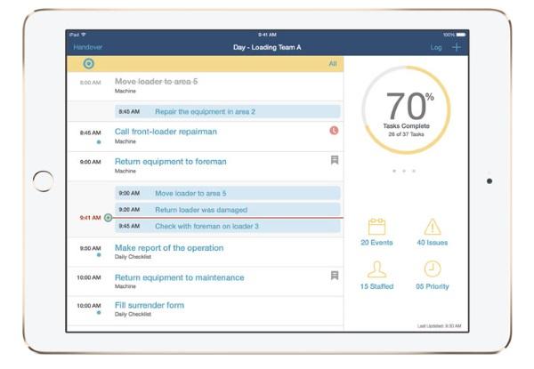 apple ibm Rapid Handover Apple et IBM dévoilent leurs nouvelles applications pour les pros