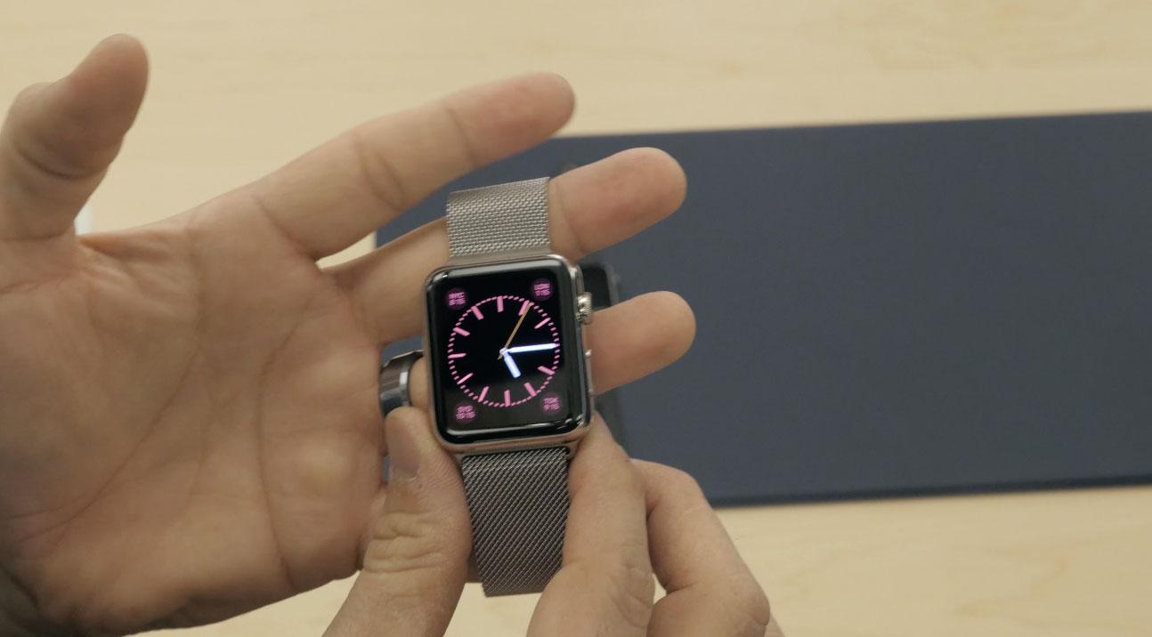 apple watch bracelet 1 Apple Watch : Vidéo de prise en main et aperçu des bracelets