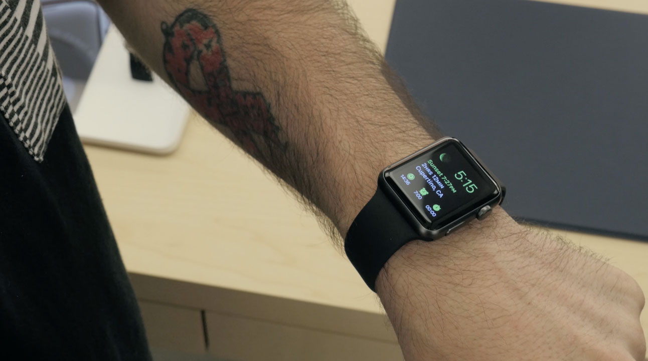 apple watch bracelet 4 Apple Watch : Vidéo de prise en main et aperçu des bracelets