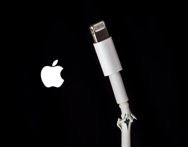 clable cover Le câble Lightning iPhone jugé trop fragile par les utilisateurs