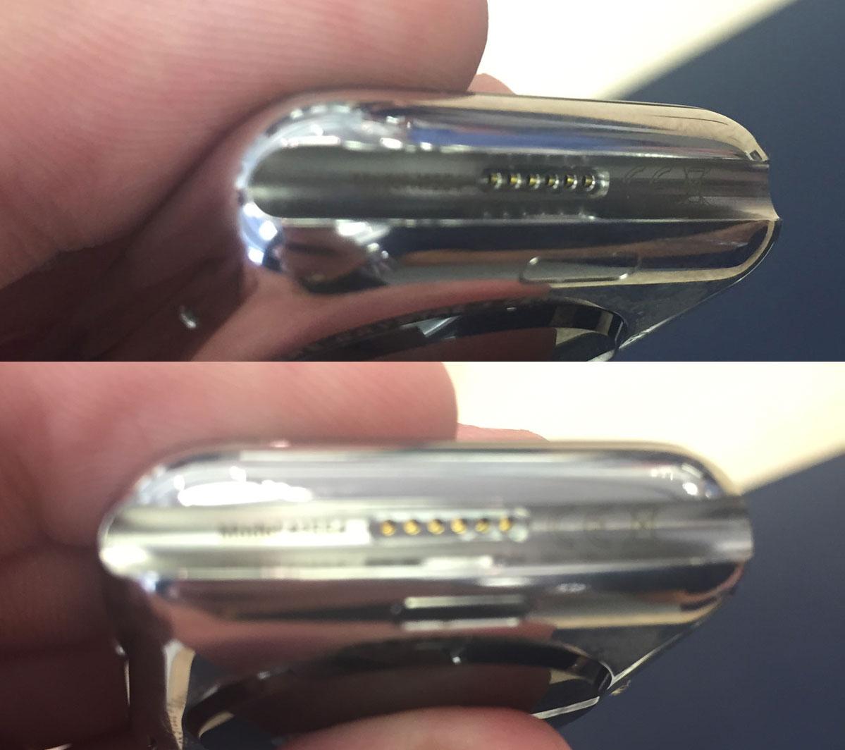 diagnostic apple watch1 LApple Watch dispose bien dun connecteur caché