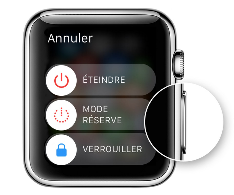 ecran redemarrage apple watch 960x801 [TUTO] Eteindre, redémarrer ou économiser son Apple Watch