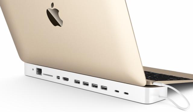 hydradock Des solutions au port USB unique du Macbook 12 pouces