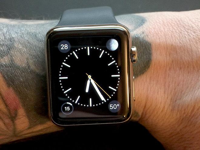 image Apple Watch and tattoo Tatouage et Apple Watch ne font pas bon ménage !