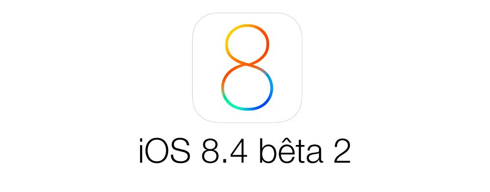 ios 8 4 beta 2 iOS 8.4 bêta 2 est disponible