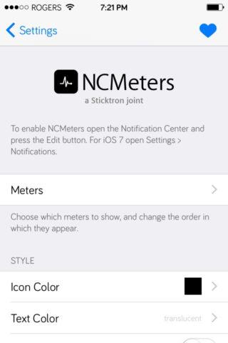 ncmeters2 320x480 [Cydia] NCMeters : gardez un oeil sur les stats dutilisation de votre appareil