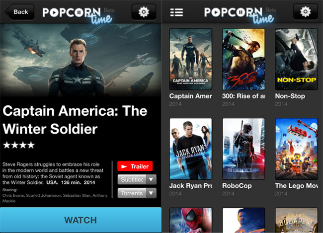 popcorn time iphone Popcorn Time lance une app iOS pour les appareils non jailbreak