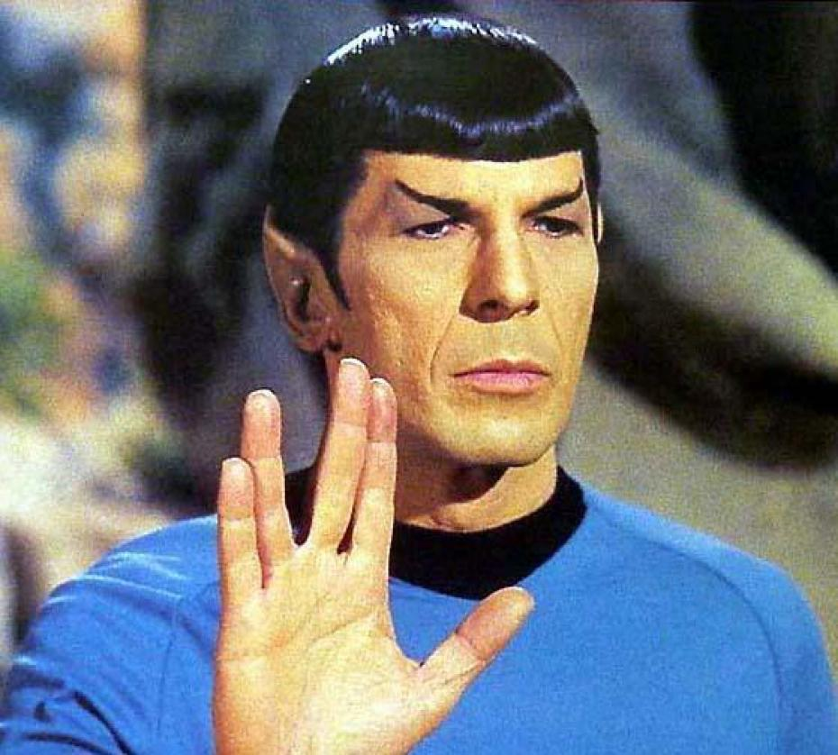salut vulcain Un emoji Spock prochainement disponible sur iOS et OS X