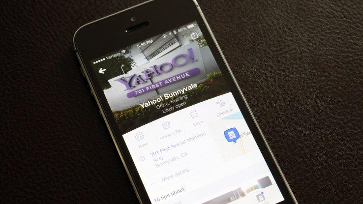yahoo voudrait racheter Foursquare 001 Yahoo serait prêt à payer 900 millions de dollars pour acquérir Foursquare