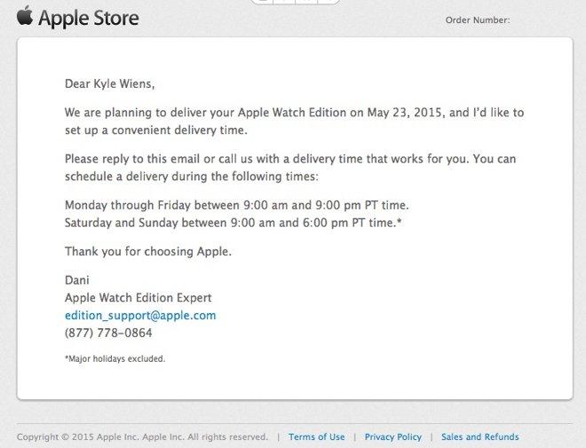 12990 7340 applewatcheditioncourier l Déballage : Les premières Apple Watch Edition sont arrivées ! [PHOTOS]
