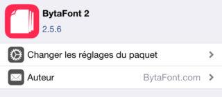 BytaFont2 320x141 [Cydia] Installer San Francisco, la police iOS 9 sur iOS 8