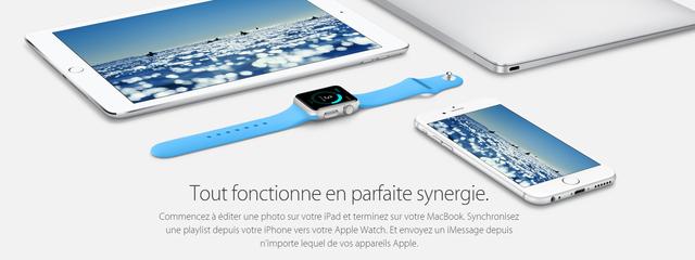 Capture7 LApple Watch est au centre de lunivers Apple