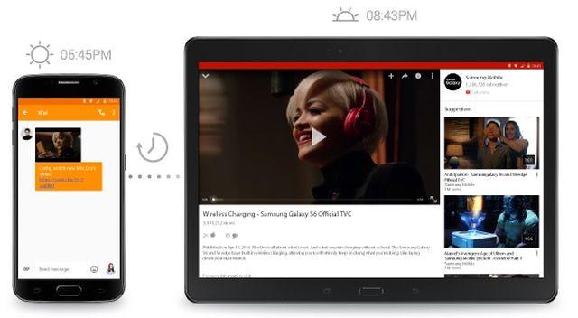 Samsung Flow 0011 Flow : Samsung lance son clone de la fonction Handoff dApple [VIDEO]