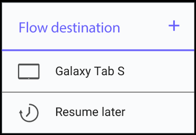 Samsung Flow 002 e1432126274535 Flow : Samsung lance son clone de la fonction Handoff dApple [VIDEO]