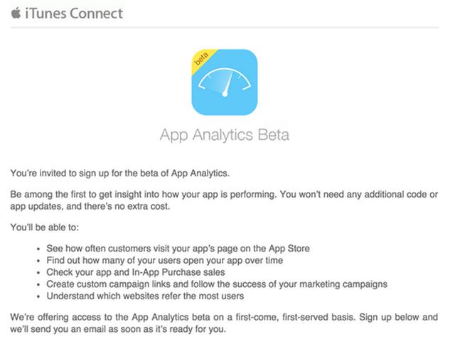 Screen Shot 2015 04 30 at 10.27.08 pm App Analytics : Apple offre un nouvel outil de stats aux développeurs