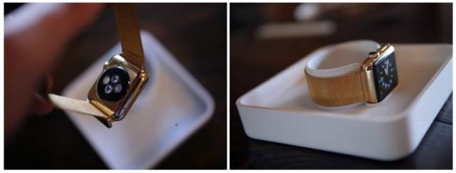 apple watch gold 640x243 Bonne idée du jour : Une Apple Watch plaquée or pour 4000 dollars (hors Apple Watch)