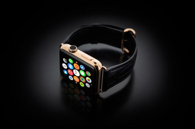 golden dreams geneva apple watch gold 08 Bonne idée du jour : Une Apple Watch plaquée or pour 4000 dollars (hors Apple Watch)
