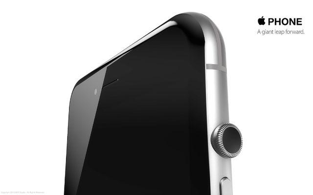 iPhone 7 design2 iPhone6S : un concept qui fusionne iPhone et Apple Watch [VIDEO]
