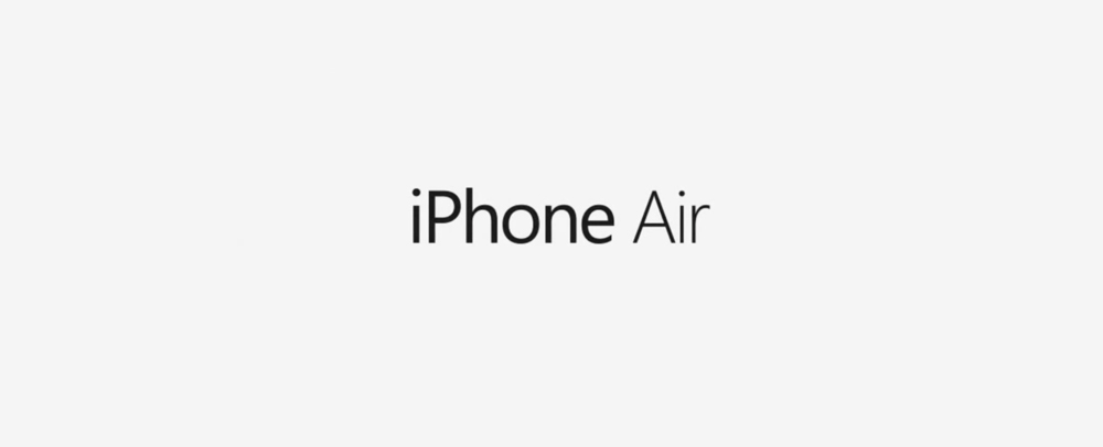 iPhone Air Nouveau concept dun iPhone Air ultra fin [VIDEO]