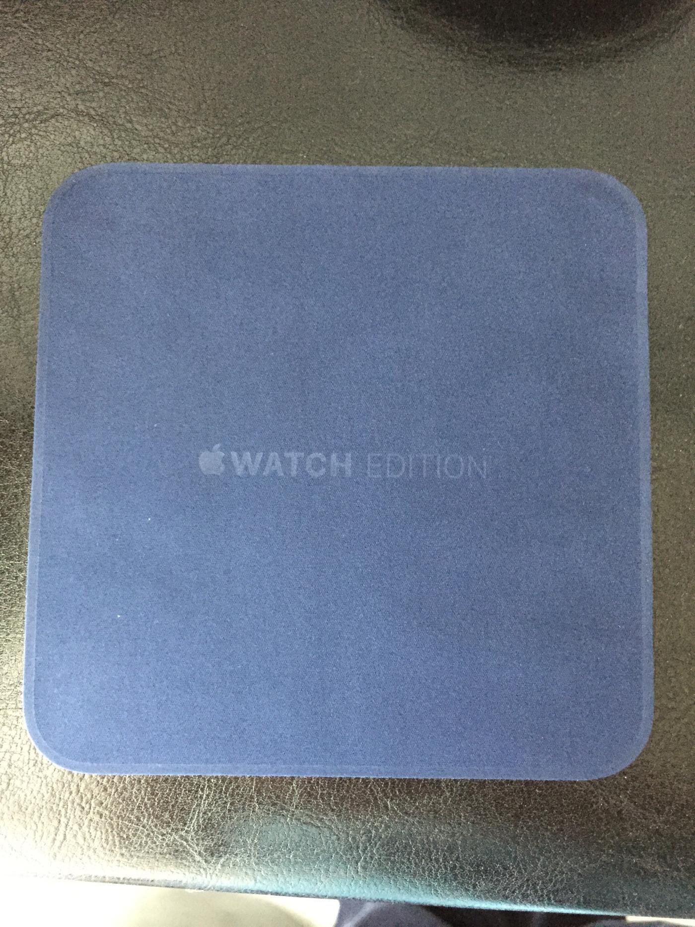 image Déballage : Les premières Apple Watch Edition sont arrivées ! [PHOTOS]