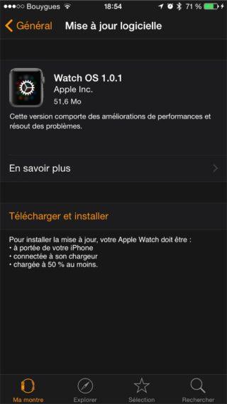 macgpic 1432054518 187454280578522 sc op 320x569 Watch OS 1.0.1 est disponible !