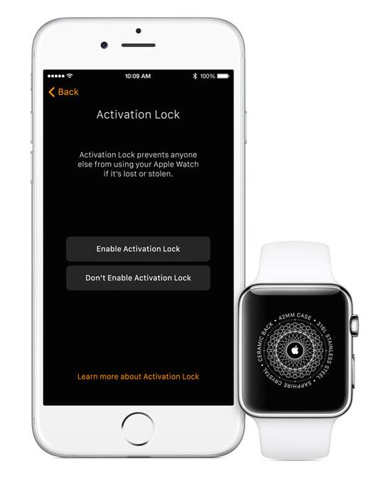 Apple Watch Activation Lock watchOS 2 intègre le verrouillage dactivation !