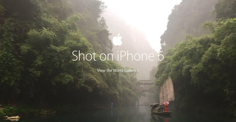Apple ad shot on iPhone 6 La campagne publicitaire Photographié avec liPhone 6 primée à Cannes !