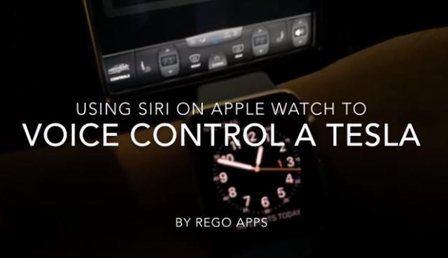 Capture Il commande sa voiture à la voix avec Siri et son Apple Watch