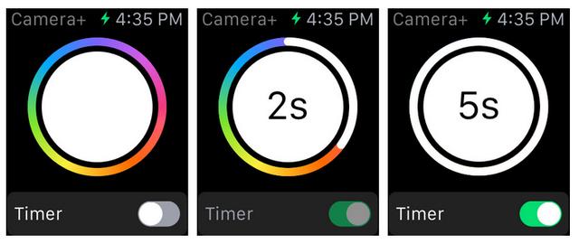 Capture2 Camera+ se met à jour pour lApple Watch... Et les selfies