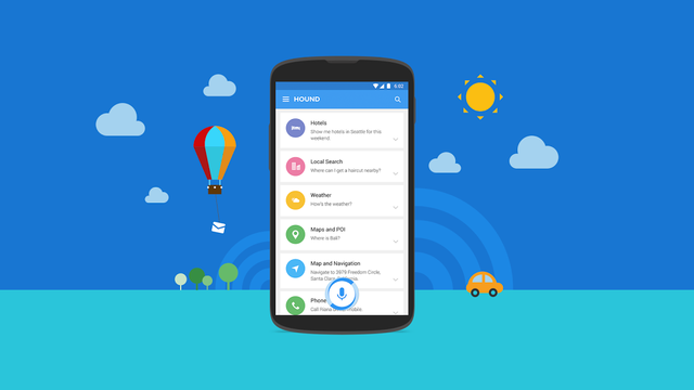 SoundHound Hound for Android teaser 001 Hound : Siri, Cortana et Google Now narrivent pas à la cheville de cet assistant [VIDEO]
