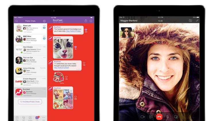 Viber 5.4.1 for iOS iPad screenshot 001 App Store : Viber 5.4.1 disponible en version finale sur iPad