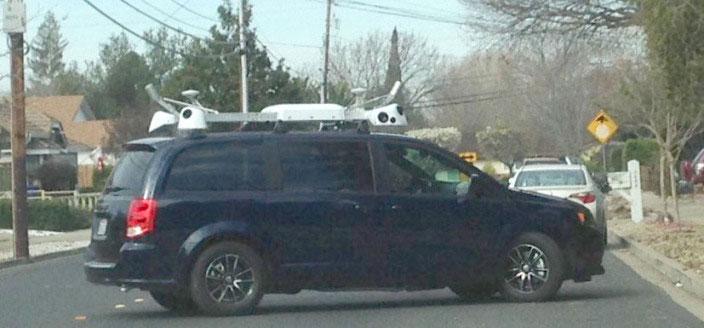 apple maps vans Apple confirme la création de sa propre cartographie avec Street View