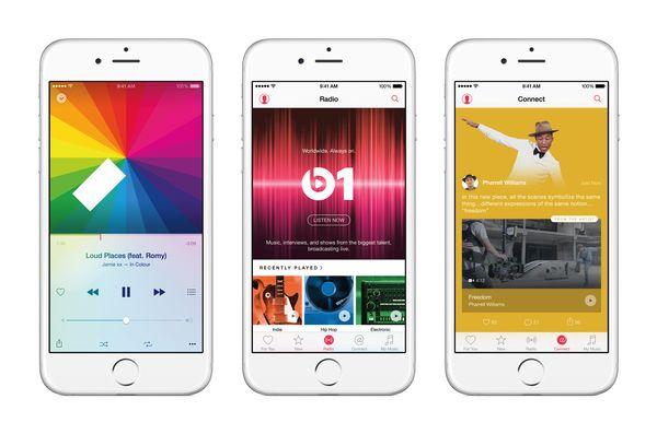 apple music screenshots.0 Bilan Keynote WWDC 2015 : Mac OS X El Capitan, iOS 9 et Apple Music