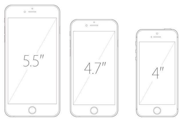 iPhoneScreens 640x425 [RUMEURS] Le retour dun iPhone à écran 4 pour 2016 ?