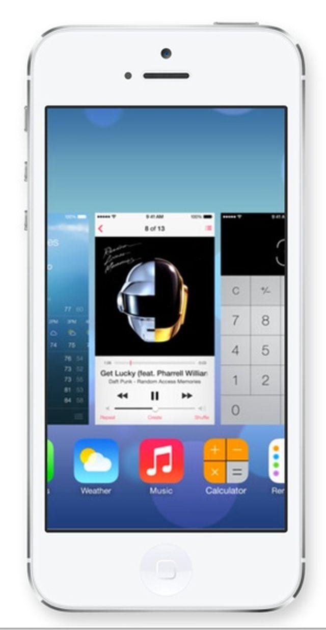 ios 7 app switcher [CYDIA] SwitcherPaper : personnalisez le fond décran de votre gestionnaire multi tâche