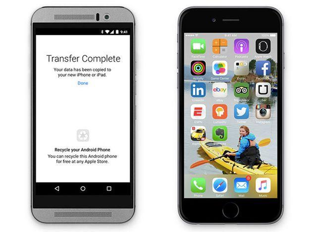 ios9 anroid migration Apple lance une application afin de convertir les utilisateurs Android