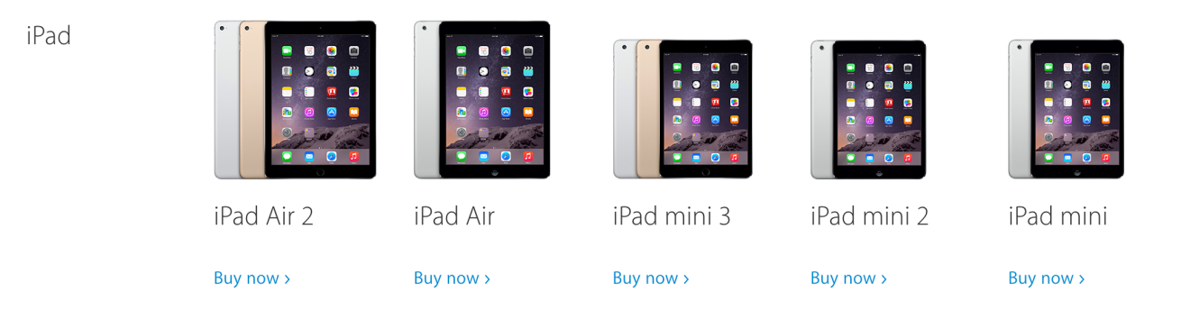 ipad mini discontinued LiPad mini premier du nom a été retiré de lApple Store