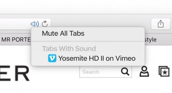 safari tab muting jpg Bilan Keynote WWDC 2015 : Mac OS X El Capitan, iOS 9 et Apple Music
