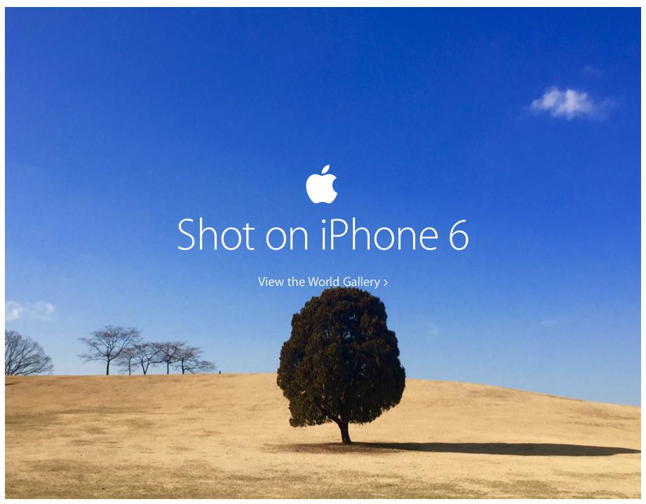 shot on iphone6 Deux capteurs photo pour les prochains iPhone ?