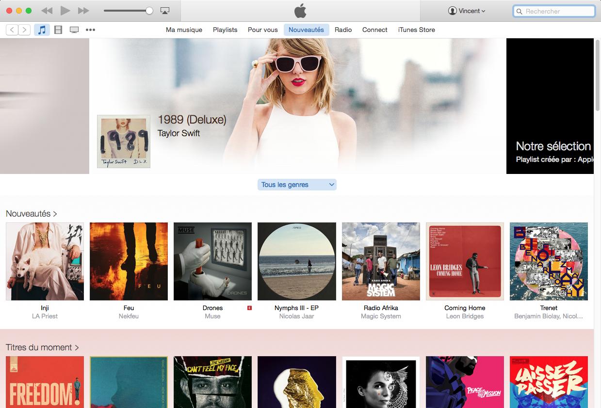 154960 iTunes 12.2 est officialisé par Apple