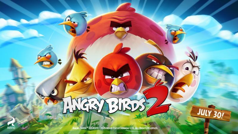 Angry Birds 2 Rovio annonce un nouvel Angry Birds (un vrai !)
